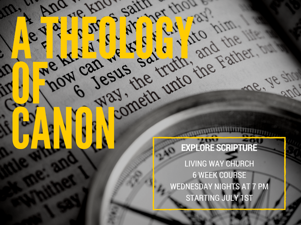 A Theology Of Canon